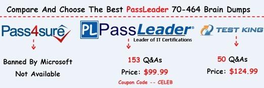 PassLeader 70-464 Brain Dumps[26]