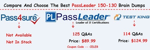PassLeader 150-130 Exam Questions[7]