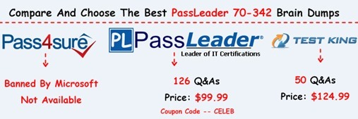 PassLeader 70-342 Exam Questions[26]