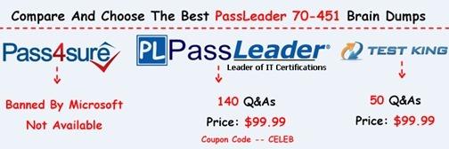 PassLeader 70-451 Exam Dumps[23]