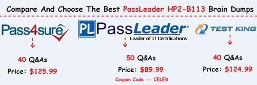PassLeader HP2-B113 Exam Dumps[16]