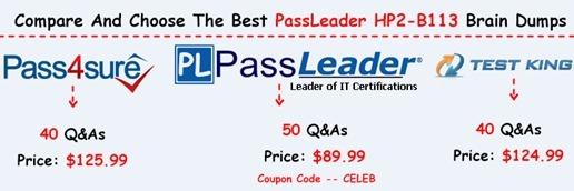 PassLeader HP2-B113 Exam Dumps[8]