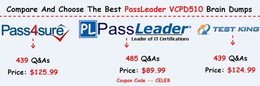 PassLeader VCPD510 Exam Questions[7]
